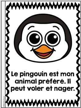 Je peux lire SÉRIE 2 - MES PRÉFÉRÉS - French Emergent Reader Mini book