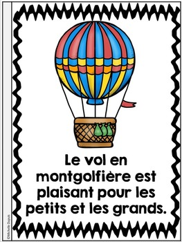 Je peux lire SÉRIE 2 - Moyens de transport - French Emergent Reader Mini book