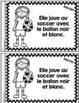 Je peux lire SÉRIE 2 - Les SPORTS - French Emergent Reader Mini book