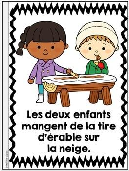 Je peux lire SÉRIE 3 - CABANE À SUCRE - French Emergent Reader Mini book