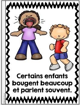 Je peux lire SÉRIE 3 - LES ENFANTS DIFFÉRENTS - French Emergent Reader Mini book