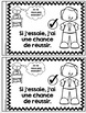 Je peux lire SÉRIE 3 - PENSÉE POSITIVE - French Emergent Reader Mini book