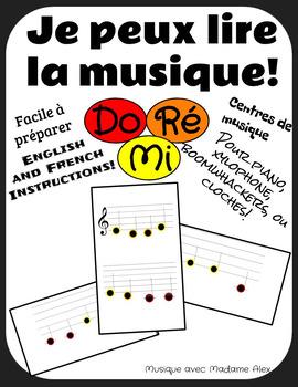 Je peux lire la musique! (I can read music) Do Re Mi
