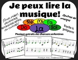Je peux lire la musique (I can read music) LA