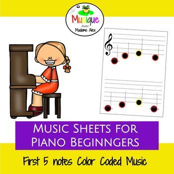 Je peux lire la musique (I can read music) bundle Do-Sol