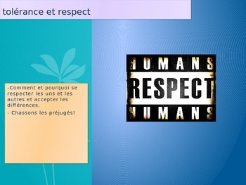 French Je suis Charlie tolerance et respect
