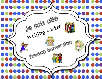 Je suis all center- French Immersion