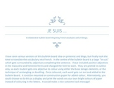 """Je suis"" display"