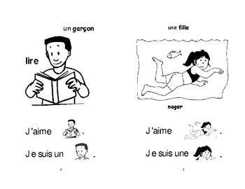 3-4) Je suis et j'aime - livret de lecture ENFANT C1 Mat. et 1ère
