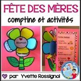 Comptine et activités pour la fête des mères | French Mother's Day poem and card