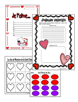 Valentine's Day Activities in FRENCH! Games and Fun Galore!