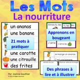 Je travaille mon vocabulaire: La nourriture {French Vocabulary Practice}