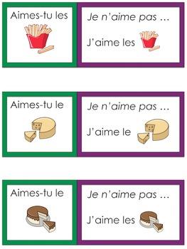 Je travaille mon vocabulaire: La nourriture {French Vocabulary Practice}