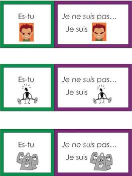 Je travaille mon vocabulaire: Les adjectifs 1 {French Adjectives Practice 1}