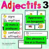 Je travaille mon vocabulaire: Les adjectifs 3 {French Adjectives Practice 3}