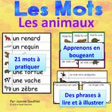 Je travaille mon vocabulaire: Les animaux {French Vocabula