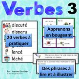 Je travaille mon vocabulaire: Les verbes 3 {French Verb Pr