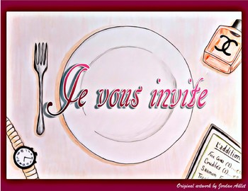 Je vous invite - French CI / TPRS - the imperfect and ordering in a restaurant
