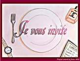 Je vous invite - French CI / TPRS - the imperfect and orde