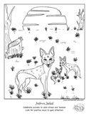 """Jealousy """"Color Your Emotions"""" coloring book page for soci"""