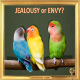 Jealousy or Envy? – ESL adult conversation power-point lesson