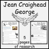 Jean Craighead George  -Fun & Printable Comprehension Pack