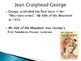 Jean Craighead George Biography PowerPoint
