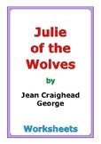 """Jean Craighead George """"Julie of the Wolves"""" worksheets"""
