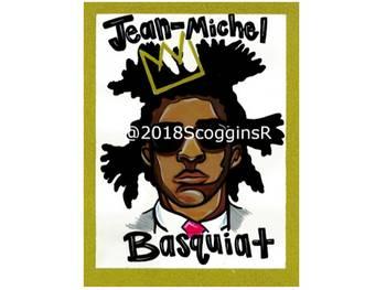 Jean-Michel Basquiat- Artist Poster
