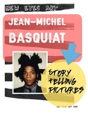 Jean-Michel Basquiat Storytelling Pictures Art Lesson!