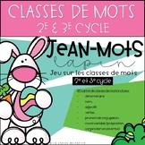 Jean-Mots Lapin - Jeu sur les classes de mots