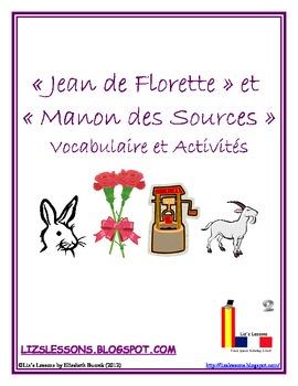 Jean de Florette & Manon des Sources Vocabulary and Activities