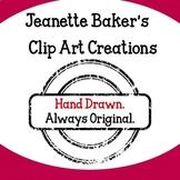 Jeanette Baker Clip Art Bundle #1