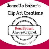 Jeanette Baker Clip Art Bundle #2