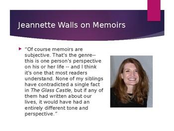 """Jeannette Walls' """"The Glass Castle"""" Powerpoint"""