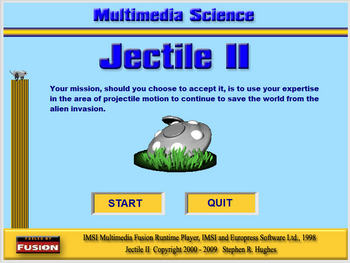 Physics - Projectile Motion - Jectile II Game - PC Version