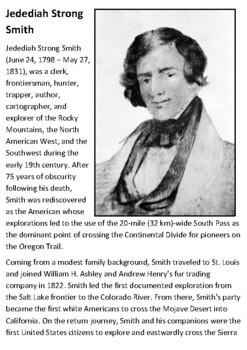 Jedediah Strong Smith Handout