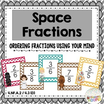 Jedi Fractions: Ordering Fractions Using the Force