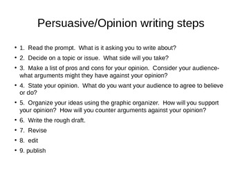 Jedi Mind Trick:  Persuasive Writing