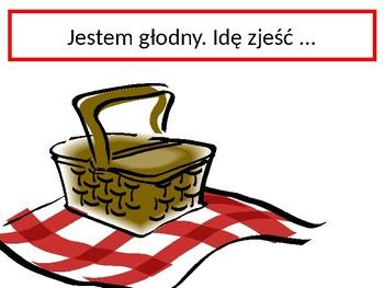 Jedzenie (Food in Polish) Jestem głodny Activity