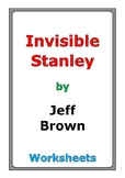 "Jeff Brown ""Invisible Stanley"" worksheets"