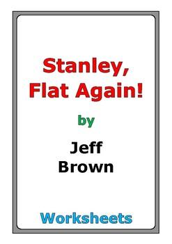 """Jeff Brown """"Stanley, Flat Again!"""" worksheets"""