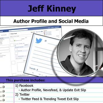 Jeff Kinney - Author Study - Profile and Social Media