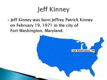 Jeff Kinney Biography PowerPoint