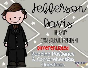 Jefferson Davis Differentiated Reading Passages