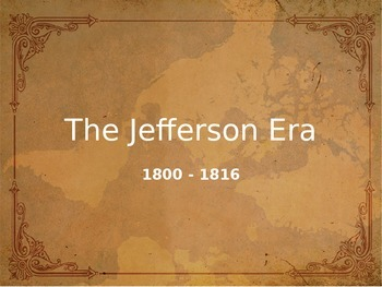 Jefferson Era