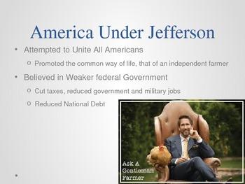 Jefferson Era 1800-1816 Powerpoint Presentation