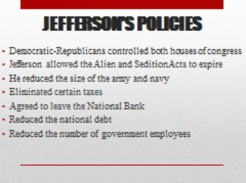 Jefferson Era PowerPoint