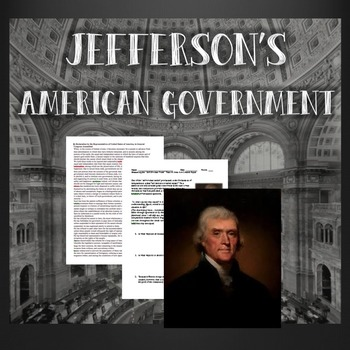Jefferson's American Government Primary Source Analysis