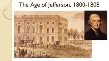 Jefferson's Presidency PPT & Doodle Notes